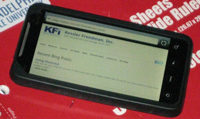 Mobile access of Kessler Freedman
