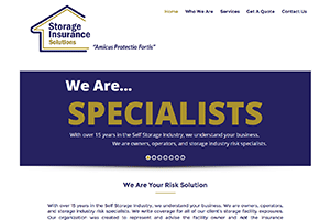 Storage Insurance Solutions