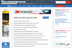 Toll Roads News