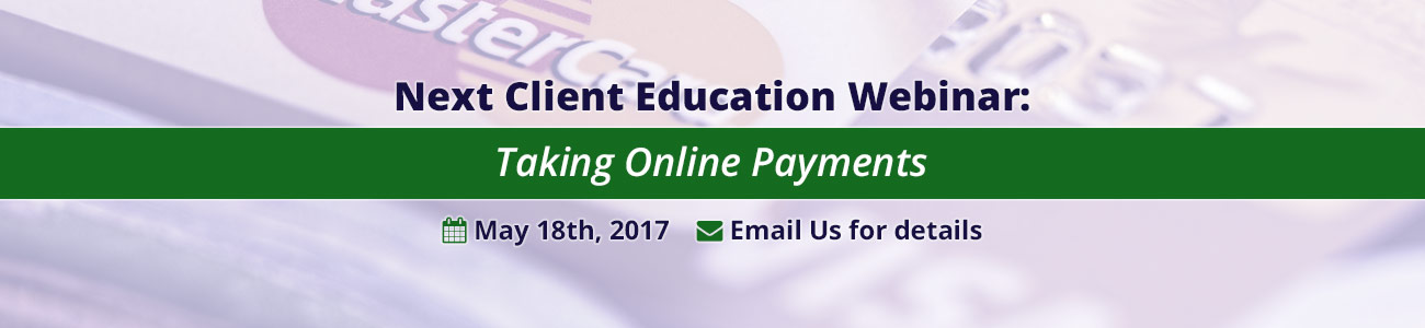 Taking Online Payments